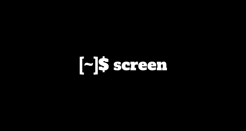 screen command